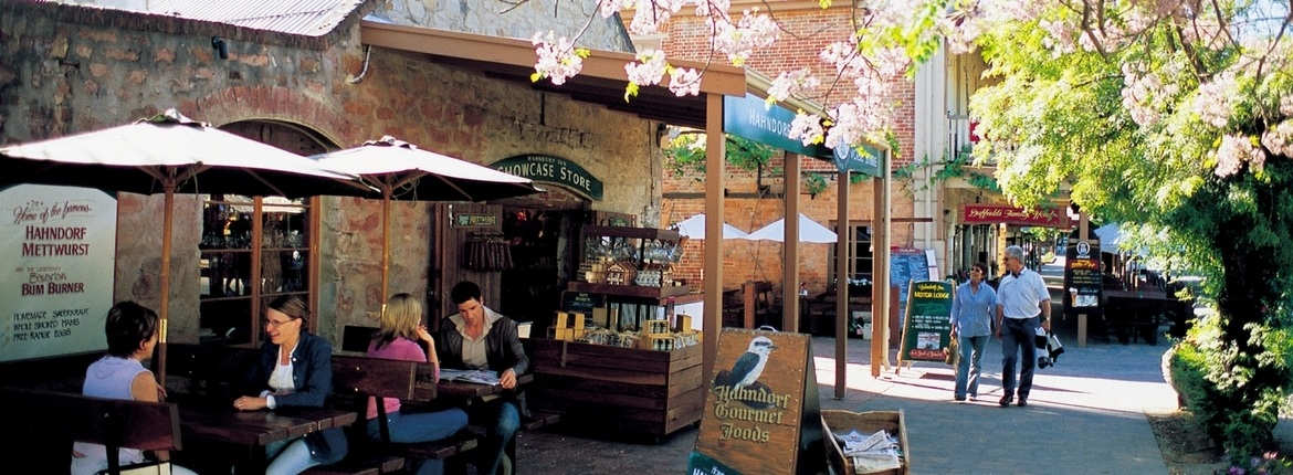 Which villages in the Adelaide Hills should you visit?